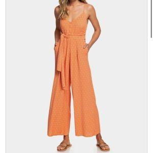 Roxy Orange jumpsuit